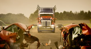 The new Optimus Prime from Western Star (a subsidiary of Daimler Trucks North America) is a highly customized prototype of a completely new 2014 Western Star model.