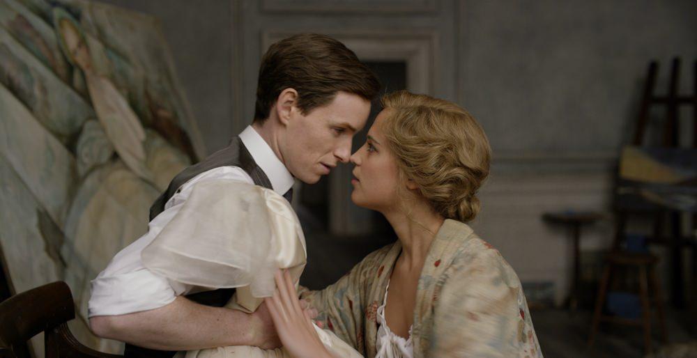 Fotografie z filmu Dánská dívka.