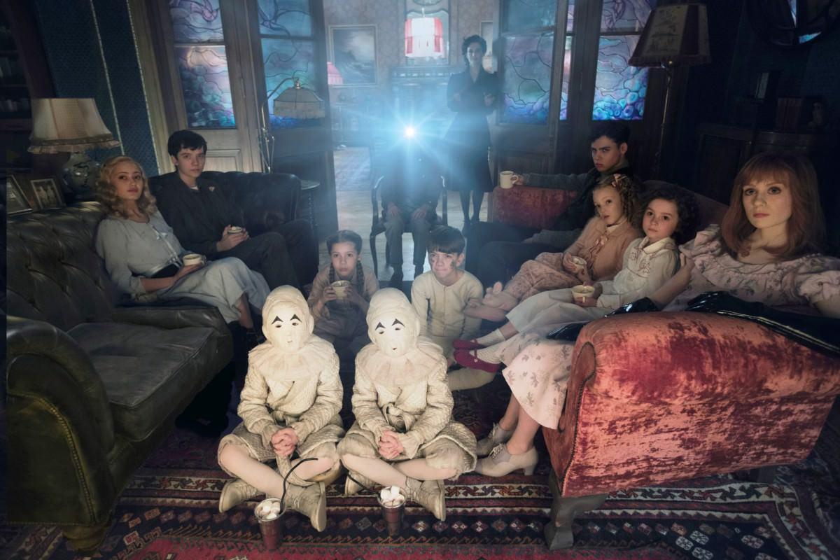 Výsledek obrázku pro film sirotčinec slečny peregrinové pro podivné děti
