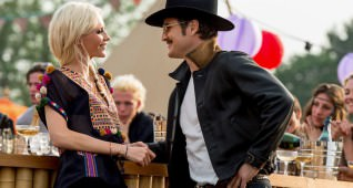 "Poppy Delevingne and Pedro Pascal star in Twentieth Century Fox's ""Kingsman: The Golden Circle."""