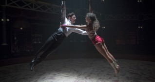 "Zendaya and Zac Efron star in Twentieth Century Fox's ""The Greatest Showman."""