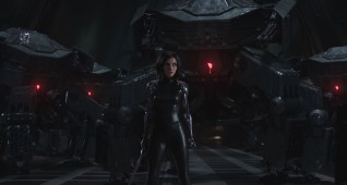 Rosa Salazar stars as Alita in Twentieth Century Fox's ALITA: BATTLE ANGEL.