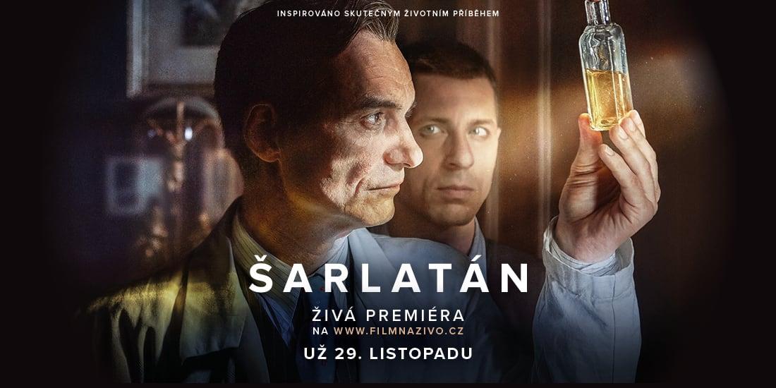 Šarlatán má premiéru na webu FilmNazivo.cz v neděli 29. 11.
