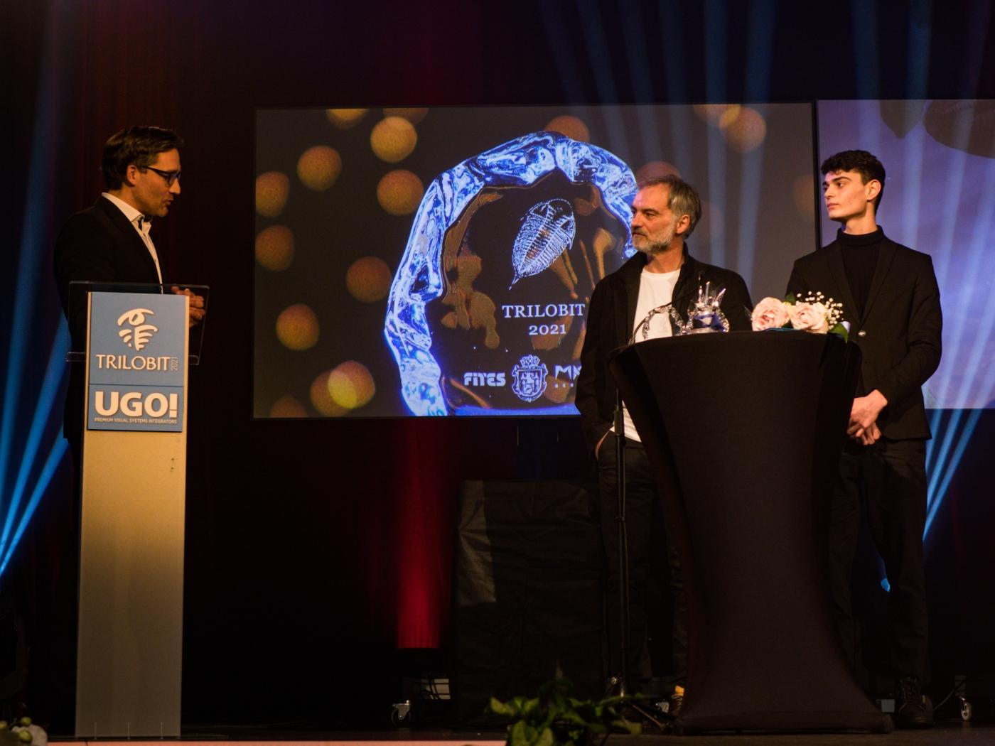 Ivan a Josef Trojanovi získali cenu Trilobit za svůj výkon ve filmu Šarlatán